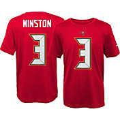 Nike Youth Tampa Bay Buccaneers Jameis Winston #3 Red T-Shirt