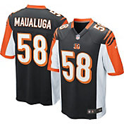 Nike Youth Home Game Jersey Cincinnati Bengals Rey Maualuga #58