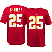 Nike Youth Kansas City Chiefs Jamaal Charles #25 Red T-Shirt