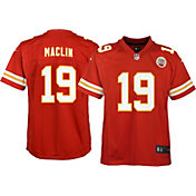 Nike Youth Home Game Jersey Kansas City Chiefs Jeremy Maclin #19