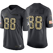 Nike Youth Home Game Jersey Dallas Cowboys Dez Bryant #88 Salute to Service 2016
