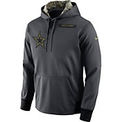 Nike Youth Dallas Cowboys Salute to Service 2016 Anthracite Pullover Hoodie