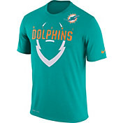 Nike Youth Miami Dolphins Legend Icon Aqua Performance T-Shirt