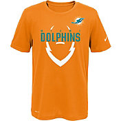 Nike Youth Miami Dolphins Sideline 2016 Legend Icon Orange Performance T-Shirt