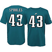 Nike Youth Philadelphia Eagles Darren Sproles #43 Green T-Shirt