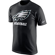 Nike Youth Philadelphia Eagles Facility Black T-Shirt