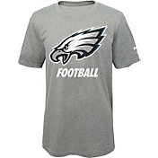 Nike Youth Philadelphia Eagles Facility Grey T-Shirt