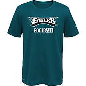 Nike Youth Philadelphia Eagles Sideline 2016 All Football Legend Green Performance T-Shirt