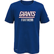 Nike Youth New York Giants Sideline 2016 All Football Legend Blue Performance T-Shirt