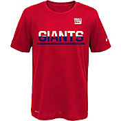 Nike Youth New York Giants Team Practice Red T- Shirt
