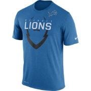 Nike Youth Detroit Lions Legend Icon Blue Performance T-Shirt