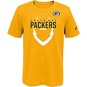 Nike Youth Green Bay Packers Sideline 2016 Legend Icon Gold Performance T-Shirt