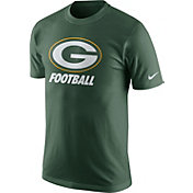 Nike Youth Green Bay Packers Facility Green T-Shirt