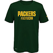 Nike Youth Green Bay Packers Sideline 2016 All Football Legend Green Performance T-Shirt