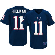 NFL Team Apparel Youth New England Patriots Julian Edelman #11 Performance Navy T-Shirt