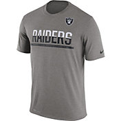 Nike Youth Oakland Raiders Team Practice Grey T-Shirt