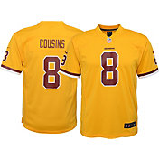 Nike Youth Color Rush 2016 Game Jersey Washington Redskins Kirk Cousins #8