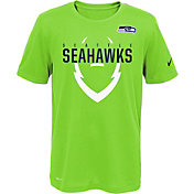 Nike Youth Seattle Seahawks Sideline 2016 Legend Icon Green Performance T-Shirt