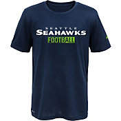 Nike Youth Seattle Seahawks Sideline 2016 All Football Legend Navy Performance T-Shirt