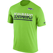 Nike Youth Seattle Seahawks Team Practice Green T- Shirt
