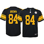 Nike Youth Color Rush 2016 Game Jersey Pittsburgh Steelers Antonio Brown #84