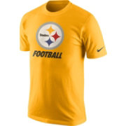 Nike Youth Pittsburgh Steelers Facility Gold T-Shirt