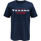 Nike Youth Houston Texans Sideline 2016 All Football Legend Navy Performance T-Shirt
