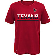 Nike Youth Houston Texans Team Practice Red T-Shirt