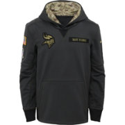 Nike Youth Minnesota Vikings Salute to Service 2016 Anthracite Pullover Hoodie
