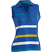 Nancy Lopez Women's Blast Sleeveless Golf Polo – Plus-Size