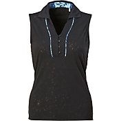 Nancy Lopez Women's Courage Sleeveless Golf Polo