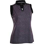 Nancy Lopez Women's Sing Sleeveless Polo – Plus-Size