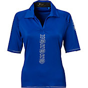 Nancy Lopez Women's Attract Golf Polo