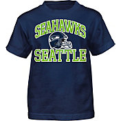 NFL Team Apparel Boys' Seattle Seahawks Play Action T-Shirt