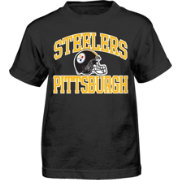 NFL Team Apparel Boys' Pittsburgh Steelers Play Action T-Shirt