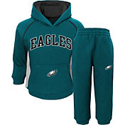 NFL Team Apparel Infant Philadelphia Eagles Lil Fan Green Fleece Set