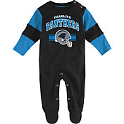 NFL Team Apparel Infant's Carolina Panthers Newborn Coverall