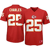 NFL Team Apparel Youth Kansas City Chiefs Jamaal Charles #25 Red T-Shirt
