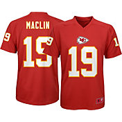 NFL Team Apparel Youth Kansas City Chiefs Jeremy Maclin #19 Performance Red T-Shirt