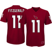 NFL Team Apparel Youth Arizona Cardinals Larry Fitzgerald #11 Red Performance T-Shirt