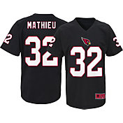 NFL Team Apparel Youth Arizona Cardinals Tyrann Mathieu #32 Black T-Shirt