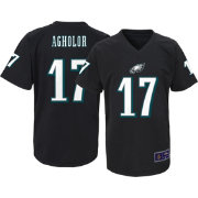 NFL Team Apparel Youth Philadelphia Eagles Nelson Agholor #17 Black T-Shirt
