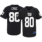 NFL Team Apparel Youth New York Giants Victor Cruz #80 Black T-Shirt