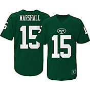 NFL Team Apparel Youth New York Jets Brandon Marshall #15 Green T-Shirt