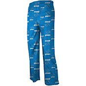 NFL Team Apparel Youth Detroit Lions Dorm Blue Pants