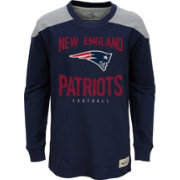 NFL Team Apparel Youth New England Patriots Legend Navy Long Sleeve Shirt