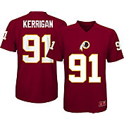 NFL Team Apparel Youth Washington Redskins Ryan Kerrigan #91 Red T-Shirt