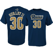 NFL Team Apparel Youth Los Angeles Rams Todd Gurley #30 Navy T-Shirt