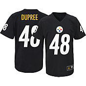 NFL Team Apparel Youth Pittsburgh Steelers Bud Dupree #48 Black T-Shirt
