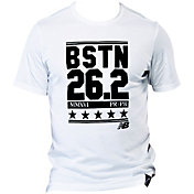 New Balance Men's BSTN 26.2 Heather Tech Running T-Shirt